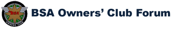 BSA Owners' Club Forum